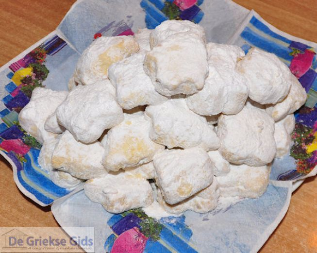 kerst koekjes uit Griekenland